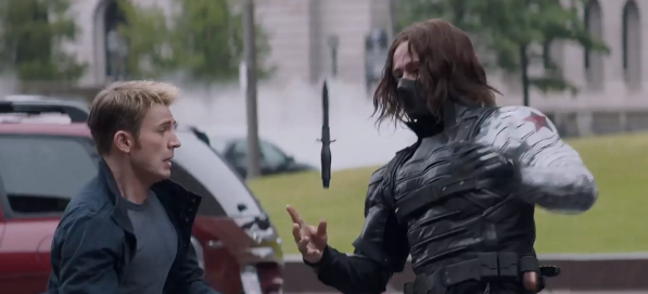 winter soldier blugger fight 1