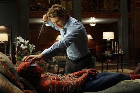 spider man 2 blugger james franco heroic weekly blugger