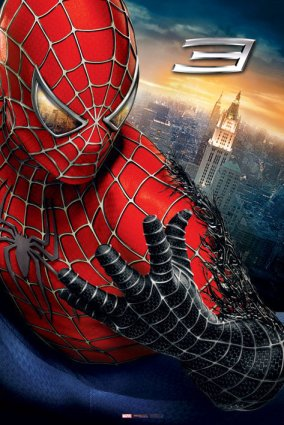 spider man 3 blugger heroic weekly poster