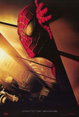 spiderman 2002 poster blugger